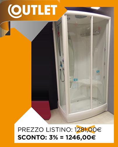 Outlet box doccia - TEUCO IDRODOCCIA L04 MULTIFUNZIONE